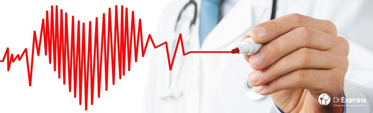 Eletrocardiograma é na Clínica DR EXAMINA!